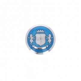 Bouton Polyester Windsor - Bleu