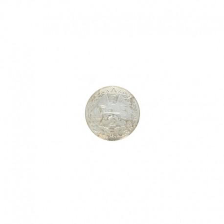 Bouton métal Geoffroy - doré