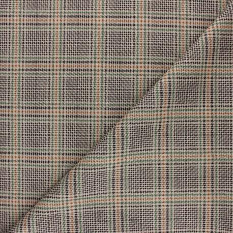Milano jersey fabric - green Green Leaf x 10cm