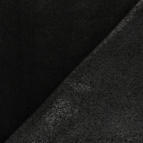 Percale hot-melt fabric – black x 10cm