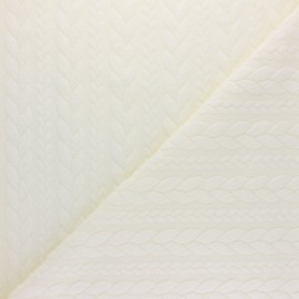 Twist jersey fabric - Raw x 10cm