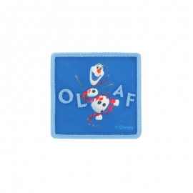 "Canvas rectangular-shaped Iron-on patch ""Frozen"" - Olaf"