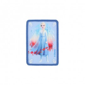 "Canvas rectangular-shaped Iron-on patch ""Frozen"" - Princesse Elsa"