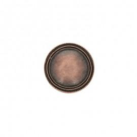 Bouton métal Winston - cuivre