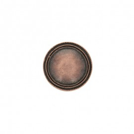 Metal Winston button - copper