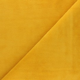 Micro Bamboo Towel fabric - yellow x 10cm