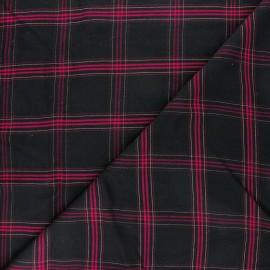 Tissu viscose lurex Dundee - Bordeaux x 10cm