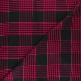 Tissu viscose lurex Shania - noir x 10cm