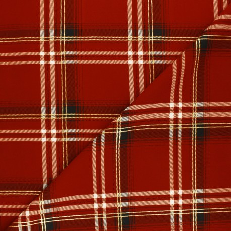 Lurex Viscose fabric - black Shania x 10cm