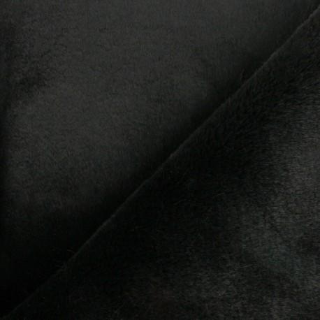 Tissu fourrure Ontario - ocre x 10cm