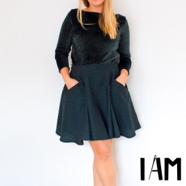 Skirt Sewing Pattern - I am Patterns I am Cindy