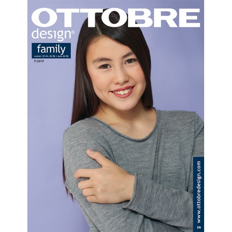 Ottobre Design Family Sewing Pattern - 7/2019