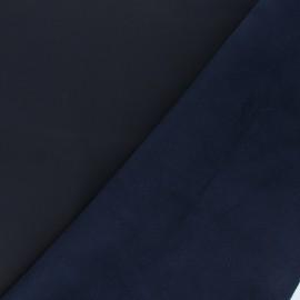 Peau d'Agneau Cuir Véritable Nubuck - bleu nuit