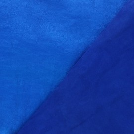 Lambskin Genuine Leather - Electric blue metallic