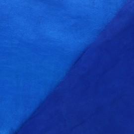 Peau d'Agneau Cuir Véritable Métallisée - Bleu électrique
