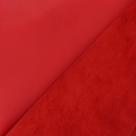 Peau d'Agneau Cuir Véritable Lorraine - Cardinal