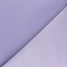 Lambskin Genuine Leather - Flowery Lilac