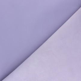 Peau d'Agneau Cuir Véritable - Fleur de lilas