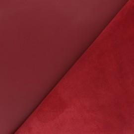 Peau d'Agneau Cuir Véritable - Rouge Napoléon