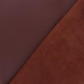 Peau d'Agneau Cuir Véritable - Choco-noisette
