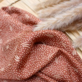 Tissu crêpe de viscose Atelier Brunette - Dune Smokey x 10cm
