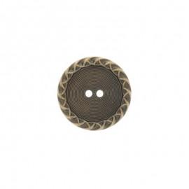 Bouton métal Paulette - bronze
