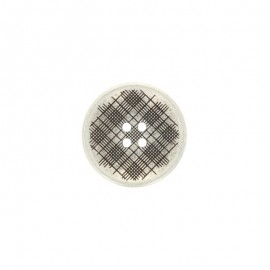 Bouton métal Square - argent