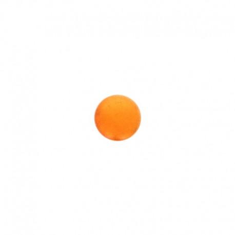 Bouton métal Piselli 12 mm - orange