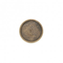 Bouton métal Eterna - bronze