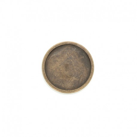 Metal Eterna button - bronze