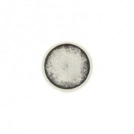 Bouton métal Eterna - argent