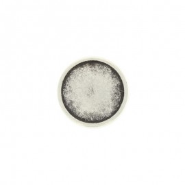 Metal Eterna button - silver
