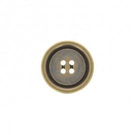 Bouton polyester Napoli - bronze
