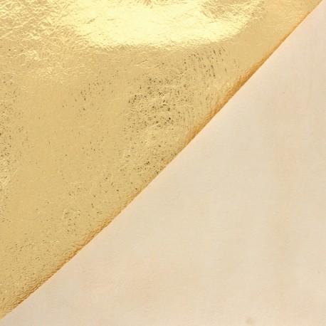 Lambskin Genuine Leather - Gold Space Blanket