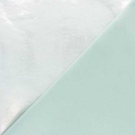 Stretch Lambskin Leather - Silver Viperine Magisco