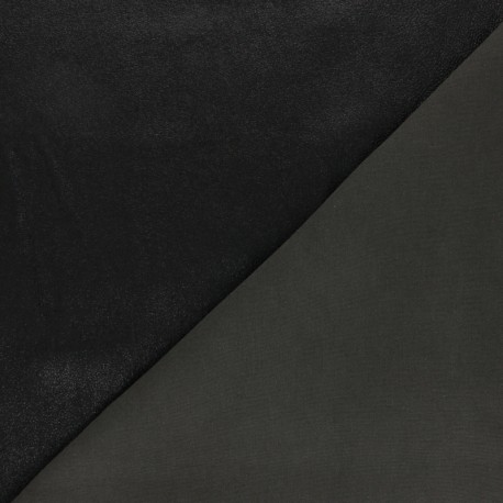 Peau Cuir Stretch Magisco Cristal - Noir