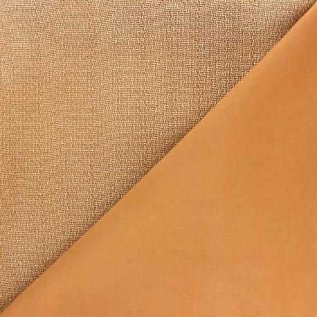 Stretch Lambskin Leather - Camel/Gold Texan Magisco