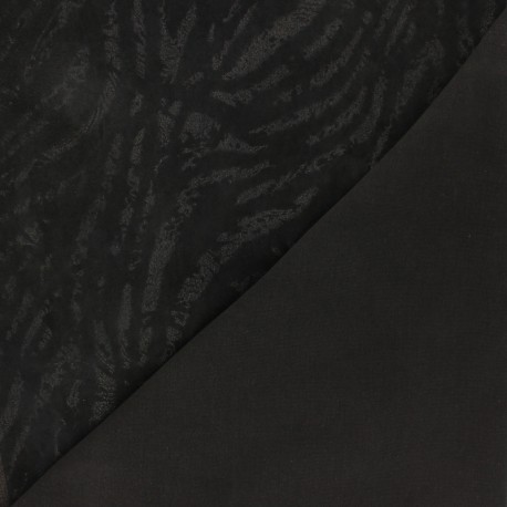 Stretch Lambskin Leather - Black Lince Magisco