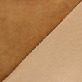 Genuine Stretch Leather - Caramel Velvet Magisco