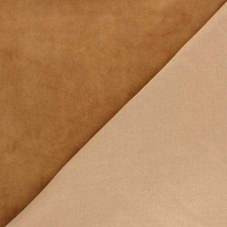 Stretch Lambskin Leather - Caramel Velvet Magisco