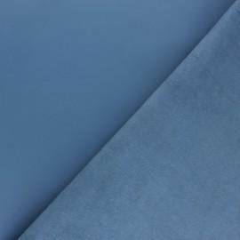 Peau d'Agneau Cuir Véritable - bleuet