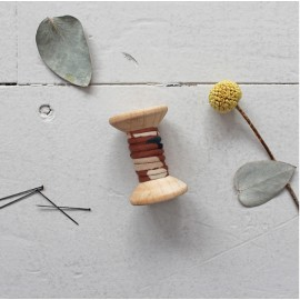 Passepoil Atelier Brunette Posie - Chesnut x 1m