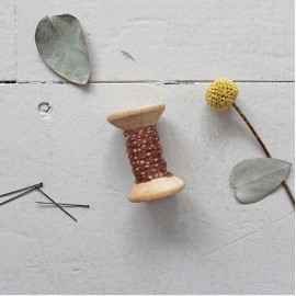 Passepoil Atelier Brunette Dune - Chesnut x 1m