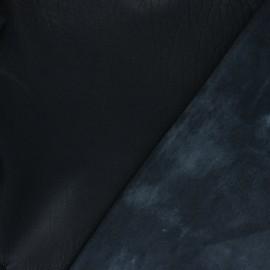 Lambskin Genuine Leather - Black Sauvage
