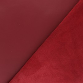Lambskin Genuine Leather - Blood red Odessa