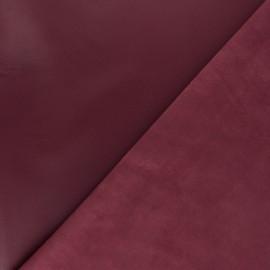 Lambskin Genuine Leather - plum Odessa