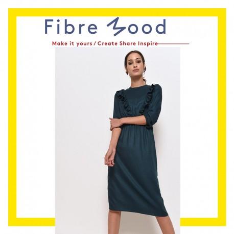 Dress Sewing Pattern - Fibre Mood Rosie