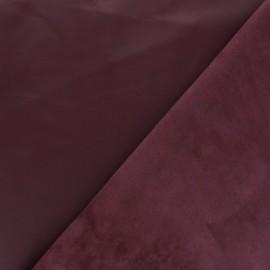 Peau d'Agneau Cuir Véritable Odessa - Rouge Bourgogne