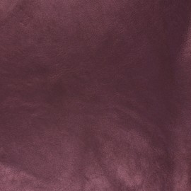 Lambskin Genuine Leather - Silver Disco