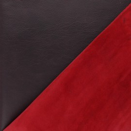 Lambskin Genuine Leather - Plum Funky